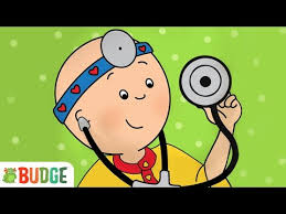 budge studios presents caillou check up go to the doctor s office with caillou and solve fun mini games that teach kids all about the human body