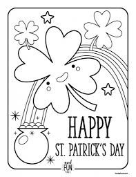 Small Picture Nod Free Printable Coloring Pages St Patrick39s Day Honest To Nod