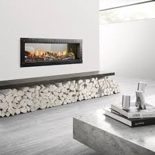 heat u0026 glo mezzo 36 seethrough gas fireplace with loft forge front see through gas fireplace g69