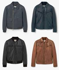 mango man leather jackets
