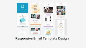 Html Email Template Design Custom Html Email Design Modern