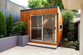 backyard office prefab. one corner entirely consisting of glass the u0027coobau0027 by inoutside is a prefab modern room thatu0027s ready to be dropped into your backyard as studio office