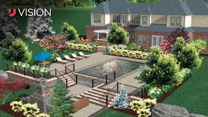 40D Landscape Design Is It Time To Add It To Your Toolbox Unilock New 3D Garden Design