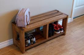 Image of: Entryway Bench with Shoe Storage