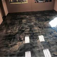 Black epoxy flooring Green Metallic Epoxy Floor Expressions Ltd Surecrete 3d Metallic Epoxy Floor System Pearl Mixin Expressionsltd