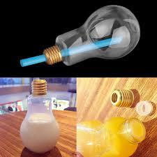 Light Bulb Drink Bottle Light Bulb Water Bottle