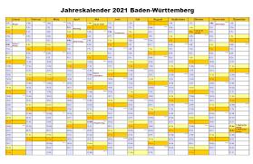 Check spelling or type a new query. Kostenlos Druckbar Jahreskalender 2021 Baden Wurttemberg Kalender Zum Ausdrucken The Beste Kalender