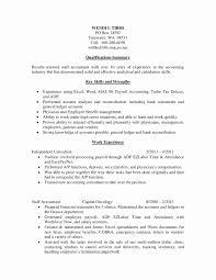 Strengths For Resume Unique Payroll Resume Example Elegant Key