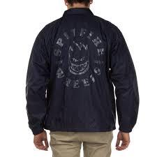 spitfire jacket. spitfire classic bighead coaches jacket - navy/reflective silver i