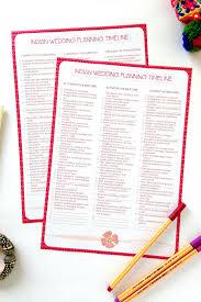 Indian Wedding Planning Checklist