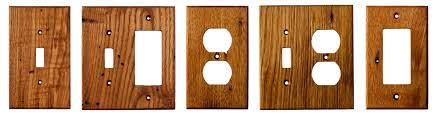 reclaimed american chestnut wood wall plates american chestnut light switch covers and covers