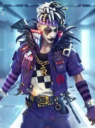 1668x2224 Garena Free Fire Joker ...