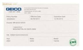 If you get pulled over, you don't want to spend five minutes fiddling with your phone, trying to. Proof Of Insurance Geico Payment Proof 2020