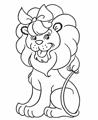 Free Printable Coloring Pages For Kids Pre K Coloring Pages Lion