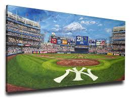 yankee stadium canvas wall art