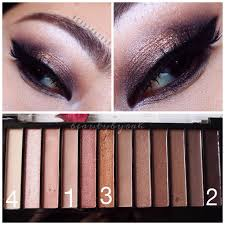 eyeshadow look using the makeup revolution iconic 3 palette beautybyrah on insram