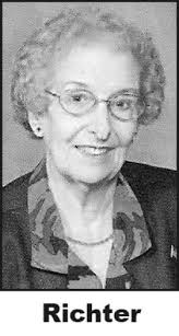 MILDRED RICHTER Obituary - Death Notice and Service Information