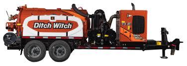 Hydro Excavator Truck Vacuum Excavation Ditch Witch