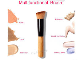 1pcs multi function professional makeup brushes powder concealer blush foundation make up brush set wooden kabuki for mac makeup in makeup brushes tools