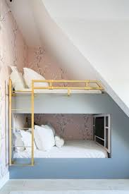 Bunk Beds With Gold Railings ...
