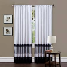 54 inch long curtains lovely triangle home fashions nerina rod pocket single panel