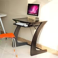 desktop computer table. Resistant Home Desktop Computer Desk Laptop Table Simple Green Glass Of Desk-in Desks From Furniture On Aliexpress.com