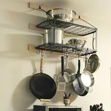 kitchen dining bar pot rack wall