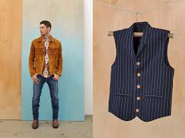 9a fringed suede type ii honey yellow cowhide leather jacket tack slim denim