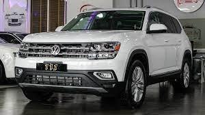 2019 Volkswagen Atlas 4motion 3 6l V6 Sel Premium Volkswagen Atlas Car
