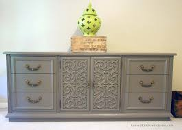 grey painted furnitureCeremonious Gray Painted Modern Dresser Added 6 Drawer And Double