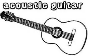Small Picture Guitar Coloring Page guitar pictures to color isrs2011