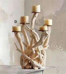 Roost Driftwood Candelabra - Vertical ...