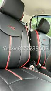 diy pvc pu leather car seat cover cushion for toyota vellfire 7 8