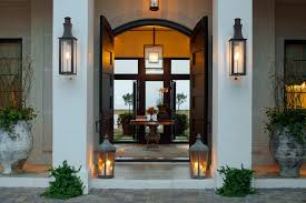 japanese outdoor lighting. Japanese Outdoor Lanterns Contemporary Entry And Arched Doorway Brick  Siding Candles Double Doors Table Front Door Night Lighting Japanese Outdoor Lighting