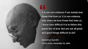 Gandhi Quotes New Mahatma Gandhi 'Soldier Of Peace'