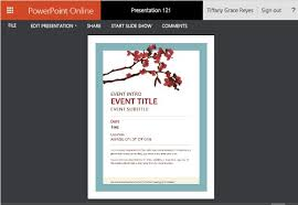 Spring Event Flyer Spring Flyer Template For Powerpoint Online