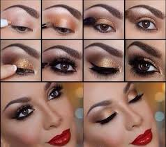 gorgeous step by makeup tutorials that will make you shine for the holidays