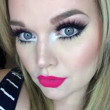 barbie doll makeup look