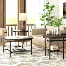 three piece coffee table set coffee table sets 3 piece set easton 5 piece
