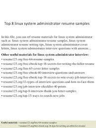 System Administrator Resume Sample Network Administrator Resume