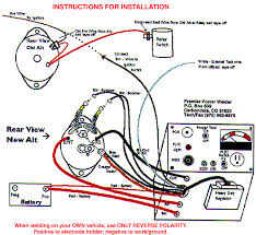 alternator wiring diagrams alternator image wiring wiring diagram for alternator to battery the wiring diagram on alternator wiring diagrams