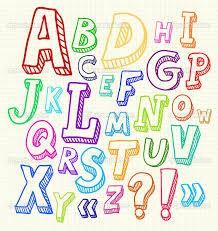 drawn typeface unique letter 20