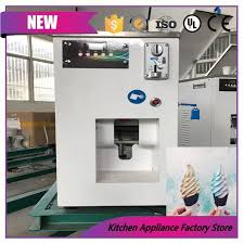 Self Serve Ice Vending Machines Classy Commerical 48V Self Cooling Coin Operated Ice Cream Vending Machine