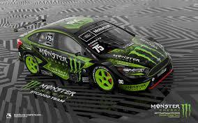 Design Monster Energy Ford Focus Stc2000 Monster Energy Concept On Behance