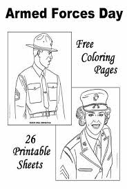 Military Coloring Pages Free And Printable Coloring For Adults