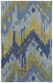 casual 5054 17 castaway blue rug by kaleen
