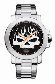 17 best images about watches tag heuer bulova mens harley davidson silver skull stainless steel watch by bulova 76a138