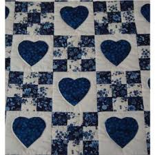 Best 25+ Quilt designs ideas on Pinterest | Easy quilt patterns ... & Shop Quilt Designs in Heart and Nine Patch Design at Almost Amish - hearts  are appliqued Adamdwight.com
