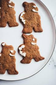 Weihnachtliche Lebkuchen Plätzchen Rezept Vegane Vibes