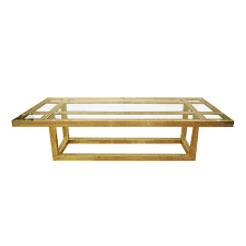 Antique Brass Glass Coffee Table Brass Coffee Tables Glass Top The Stylish And Vintage Brass